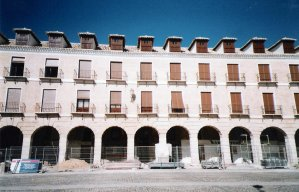 Imagen de restauración de fachada