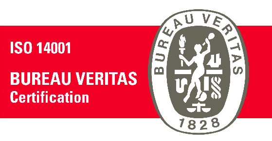 imagen de sello Bureau  Veitas Certification ISO 14001