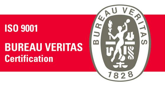 imagen de sello Bureau Veitas Certification ISO 9001
